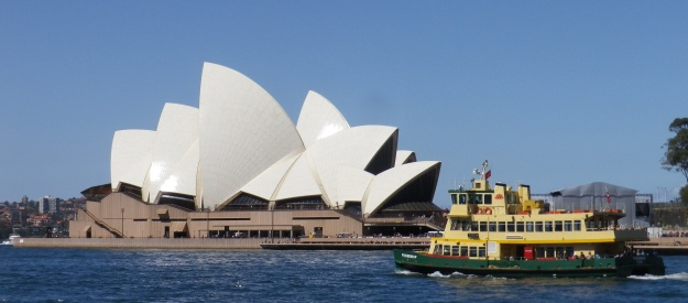 The iconic symbol of connection between Denmark and Australia - Sydney Opera House by Jørn Utzon. Mick Keast. October 2013